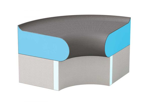 Peachy Wedi Sanoasa Bellina 90 Seat Rounded Alphanode Cool Chair Designs And Ideas Alphanodeonline