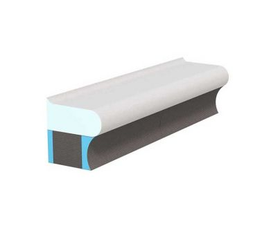 wedi Sanoasa Bellina carrier rounded finish, 1000mm