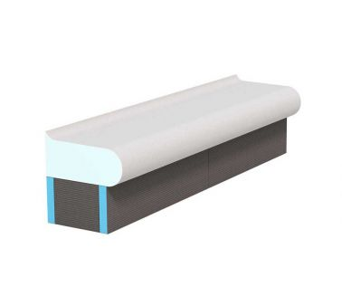 wedi Sanoasa Bellina carrier straight finish, 1000mm