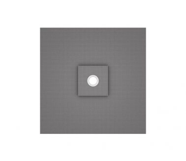 wedi Fundo Ligno floor element, central drain 900x900x20/41mm