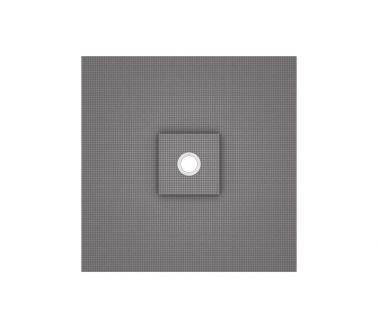 wedi Fundo Ligno floor element, central drain 1200x1200x20/41mm