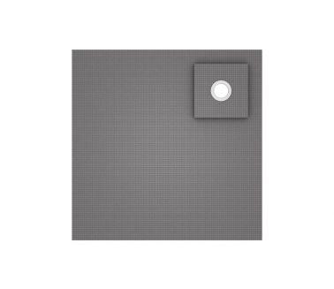 wedi Fundo Ligno floor element, corner drain 900x900x20/41mm