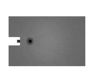 wedi Fundo Integro floor element, offset drain 1800x900x90mm