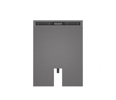 wedi Fundo Plano Linea 1200x800x70mm - 700mm channel
