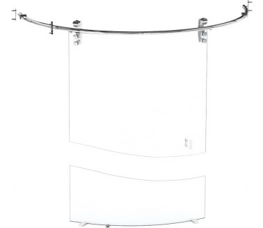 wedi Fundo glass swing door
