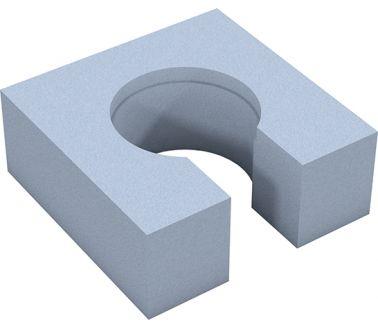 wedi Fundo channel drain substructure element