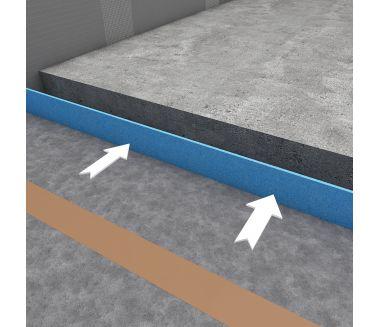 wedi Nonstep ProS Sound insulation fleece, 900x900x9mm